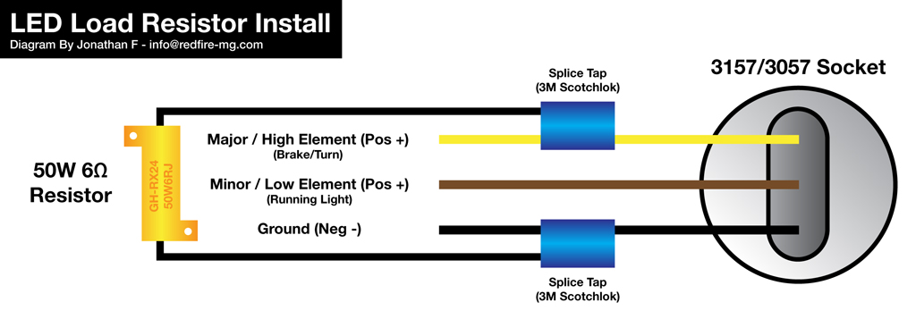 led turn signal conversion a how to guide updated sept 13th 2011 rh chevyavalanchefanclub com 7-Wire Turn Signal Diagram 3 Wire Turn Signal Diagram