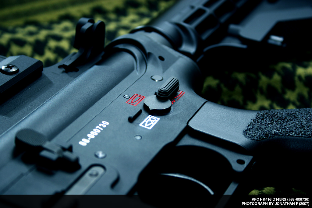 VFC HK416 D145RS Picture Set - Airsoft Canada