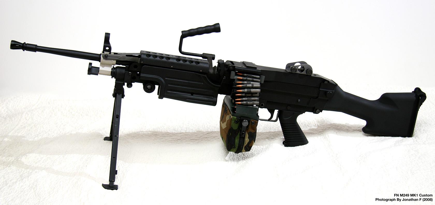 bravo machine gun